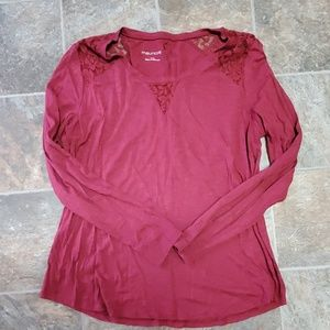 Long sleeve Maurices top